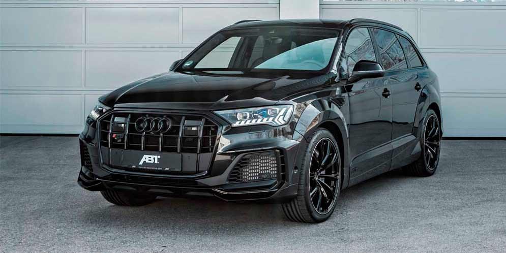 Новая Audi SQ7 TDI получила крутой тюнинг от ABT Sportsline