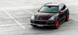 Экстремальный тюнинг Porsche Cayenne до 948-сил от Nebulus