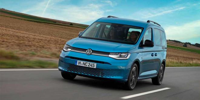 VW Caddy California — новый маленький фургон для кемпинга