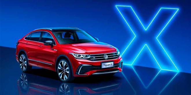 Новый кроссовер VW Tiguan X создан эксклюзивно для Китая