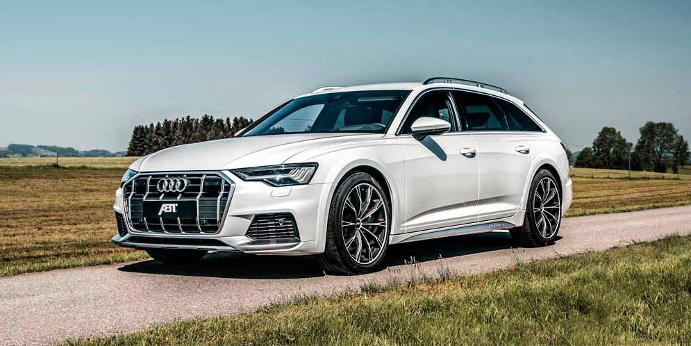 Новой Audi A6 Allroad сделали тюнинг в ABT Sportsline