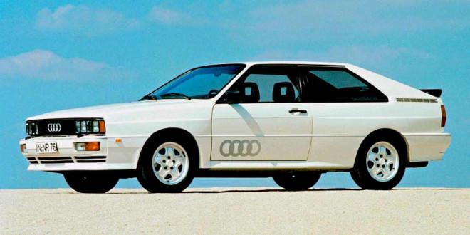 Audi отмечает 40-летие Quattro. Вспомним как это было