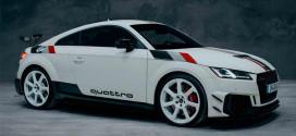 Audi TT RS 40 Jahre Quattro отмечает 40-летие Quattro