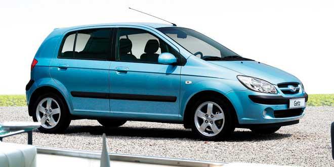Какие конкуренты у Hyundai Getz в Украине