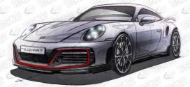 TechArt анонсировал тюнинг для нового Porsche 911 Turbo S