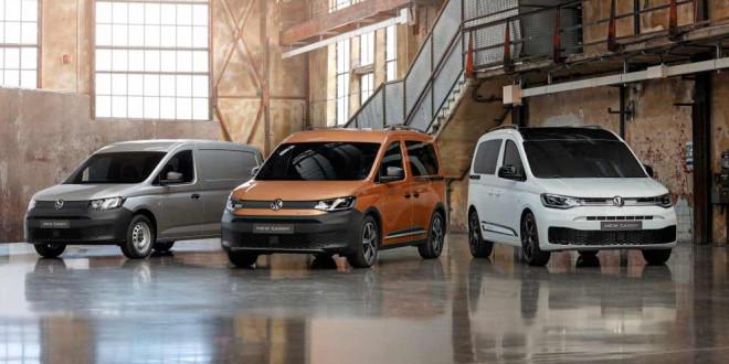 Volkswagen Caddy пятого поколения поступает в продажу
