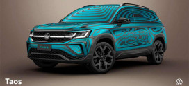 Volkswagen Argentina раскрывает дизайн кроссовера Taos