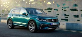 Обновлённый VW Tiguan II поступает в продажу в Британии. Цены