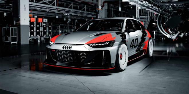 Создан универсал Audi RS6 GTO в честь 40-летия Quattro