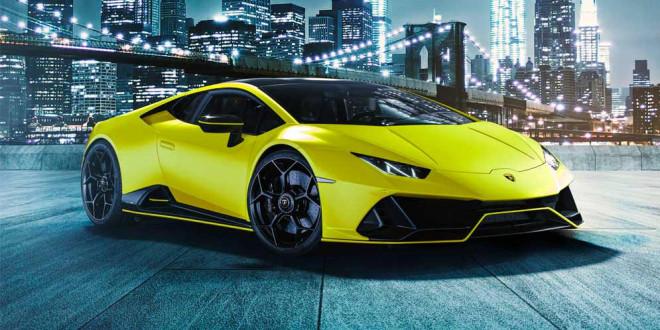 Lamborghini Huracan Evo получил коллекцию цветов Fluo Capsule