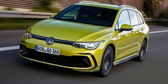 VW рассказал всё про новые Golf Variant и Alltrack 2021 года