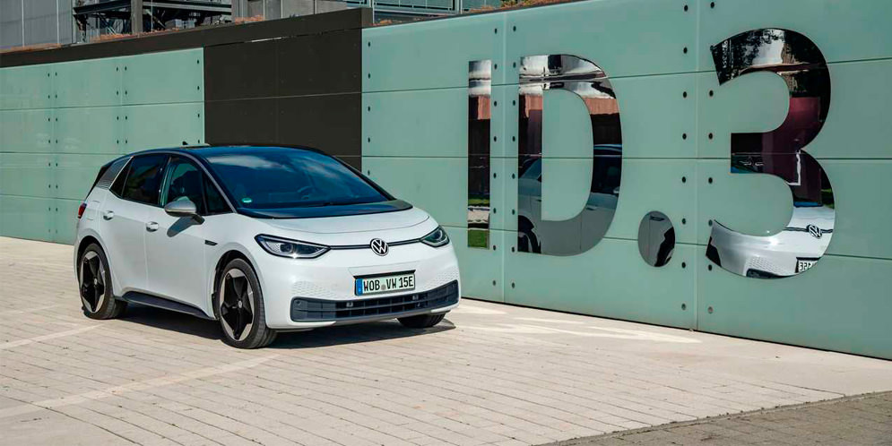 Volkswagen ID.3 стал бестселлером среди электрокаров в октябре