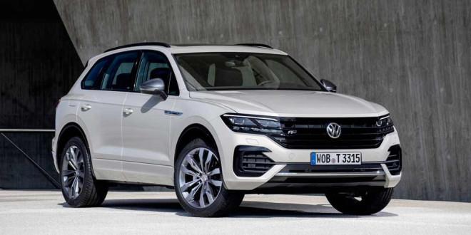 VW Touareg добавили функцию дистанционной парковки
