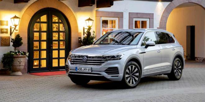 Новый Volkswagen Touareg eHybrid вышел на рынок Китая