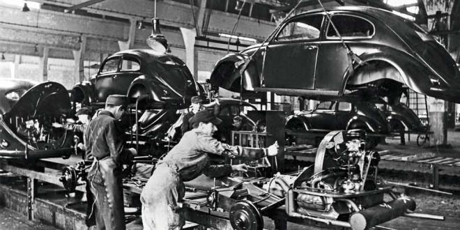 Volkswagen отмечает особые 75 лет производственного юбилея