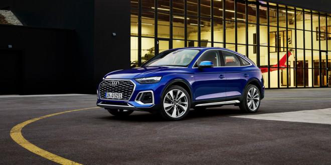 Новые Audi Q5 и SQ5 Sportback стартуют в европейской продаже