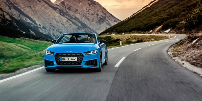 Audi TTS добавили пакеты Competition Plus и Bronze Selection