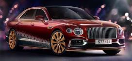 Новый Bentley Flying Spur подготовили в честь Святого Николая