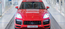 Миллионный Porsche Cayenne сошёл с конвейера в Словакии