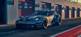 Новый трековый Porsche 911 GT3 Cup показан официально