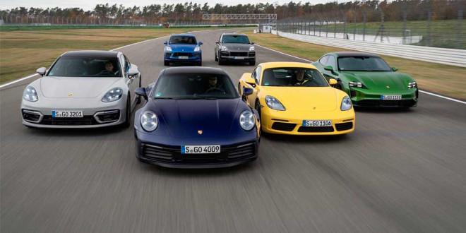 Статистика продаж компании Porsche за 2020 год. Спад на 3$