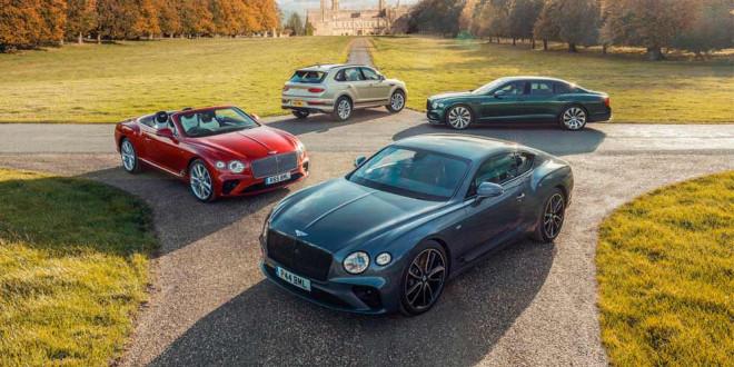 2020-й — лучший год в истории Bentley. Статистика продаж
