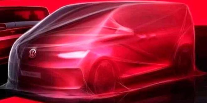 Volkswagen T7 Multivan 2021: первый тизер