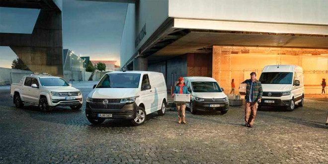Статистика продаж Volkswagen Commercial Vehicles в 2020 году
