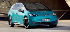 Volkswagen ID.3 стал вторым бестселлером Европы в декабре
