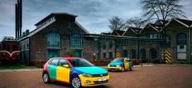 Разноцветный VW Polo Harlequin вспомнил прапрадедушку