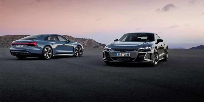 Серийная Audi E-Tron GT уже с нами. Характеристики, цены, фото