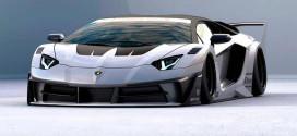 Liberty Walk сделает Lamborghini Aventador экстремальный обвес