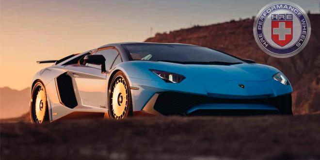 Lamborghini Aventador SV приобули в необычные колёса HRE