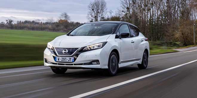 Электромобиль Nissan Leaf отмечает 10-летие спецверсией