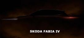 Skoda Fabia IV впервые показалась на официальном тизере