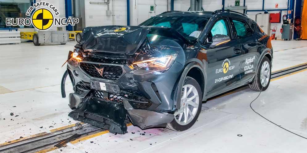 Краш-тест Cupra Formentor проведён в Euro NCAP. Итог 5 звёзд