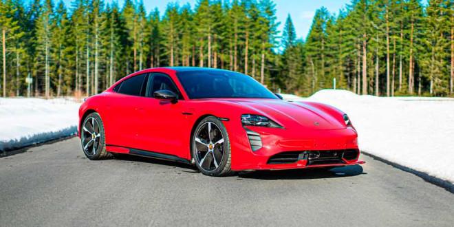 Porsche Taycan Turbo S сделали боди-кит в Zyrus Engineering