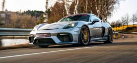 Гоночный тюнинг Porsche 718 Cayman GT4 от Manthey Racing
