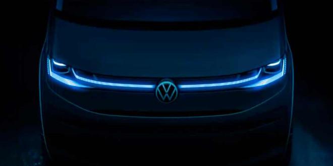 Новый Volkswagen T7 Multivan приоткрыл дизайн лица