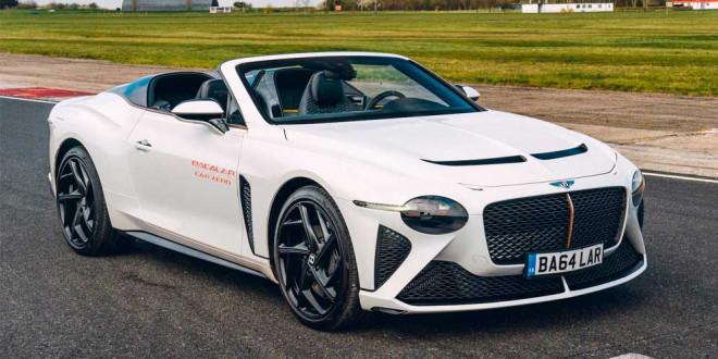Вышел первый Bentley Bacalar Car Zero стоимостью $2 млн