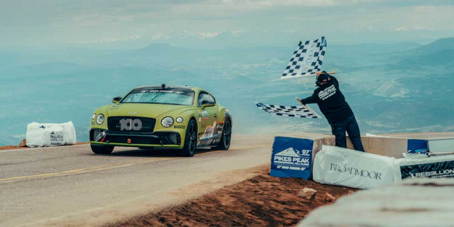 Bentley вернётся на гонку Пайкс-Пик в третий и последний раз