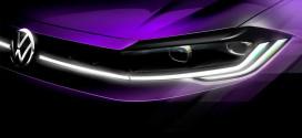Свежий Volkswagen Polo 2021 сверкнул фарами перед премьерой