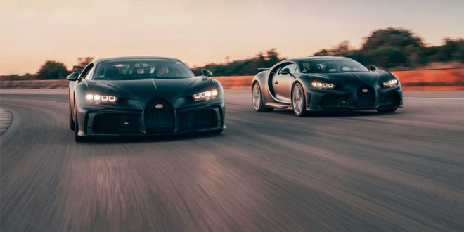 Bugatti закрыла первый квартал 2021 г. с рекордными продажами