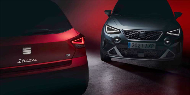 Рестайлинг SEAT Ibiza и Arona в 2021 году. Премьера 15 апреля
