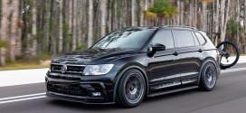 Volkswagen Tiguan тюнинговали в автомобиль мечты велосипедиста