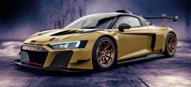 Гоночные Audi R8 LMS GT2 вышли в разноцветной спецверсии