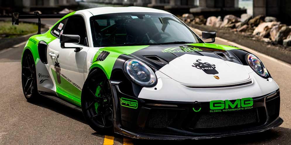 Новую Porsche 911 GT3 RS прокачали в 1016 Industries