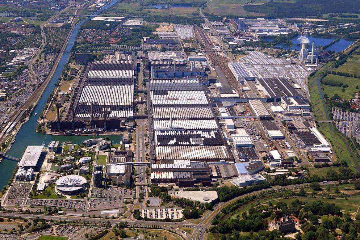 Завод Volkswagen в Вольфсбурге. Наше Время