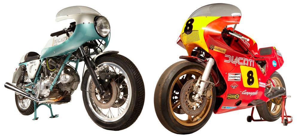 Мотоцикл Ducati 900NCR 1978 года выпуска