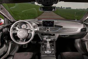 Фото салона Audi RS6 Avant от ABT Sportsline